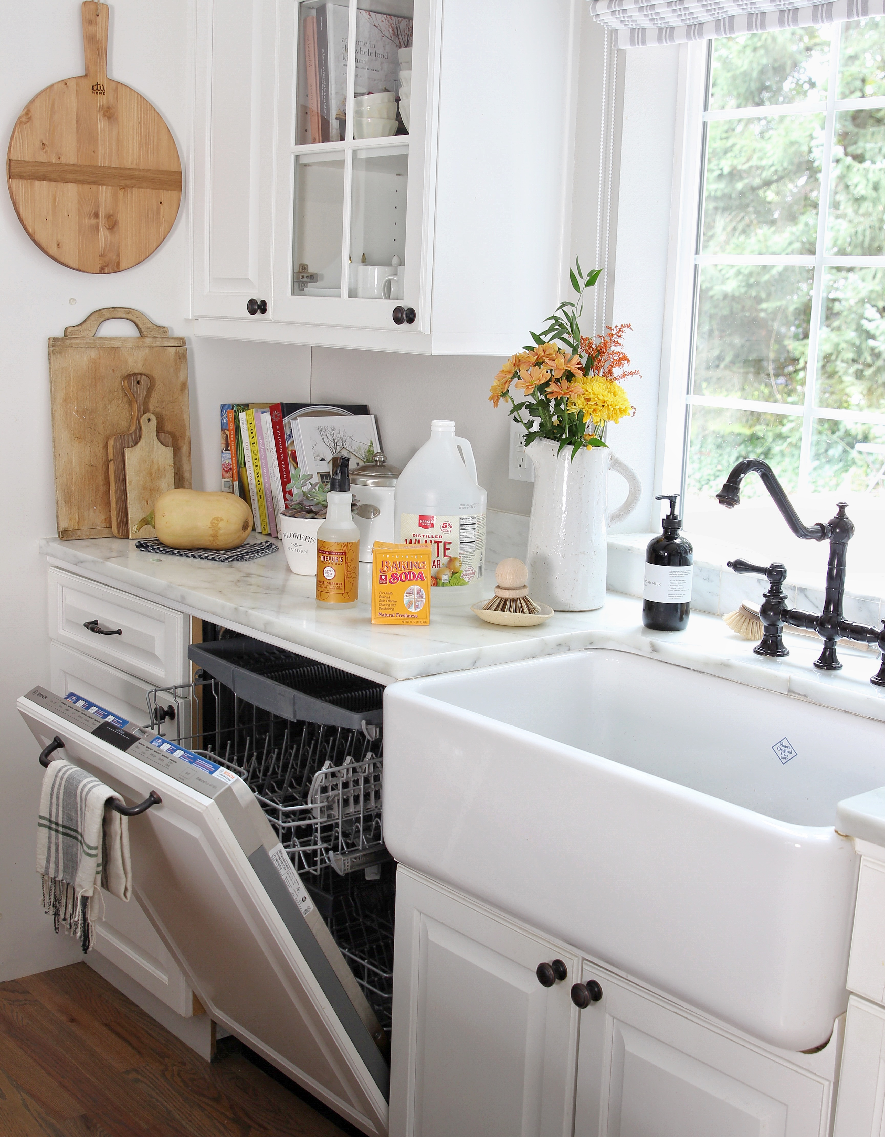 How to clean your dishwasher naturally - Lemon Grove Lane
